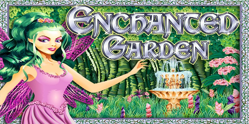 """Come into """"Enchanted Garden"""" with great RTG slot"""